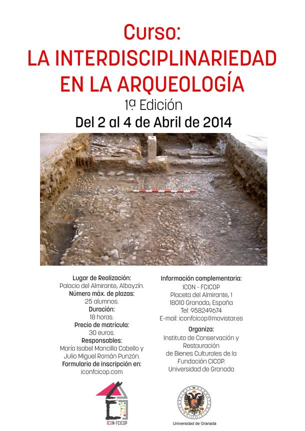 Cartel Curso Arqueología1